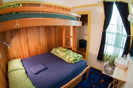 Room type: Private room Property type: Bed & Breakfast Accommodates: 3 Bedrooms: 1 Bathrooms: 0