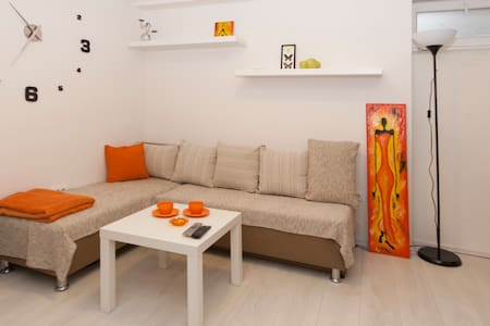 City Center Orange Place Studio + FREE PARKING - Bělehrad - Byt