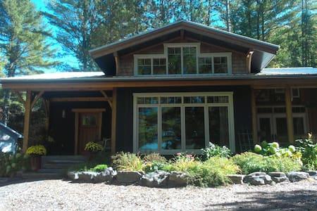 Twelve Mile Lake Craftsman Home - Minden - Haus