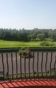 Overlooking Mount Wolseley Golf Course - Tullow