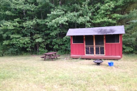 Rustic Camping Cabin 2 w/access to 20 miles trails - Chalet