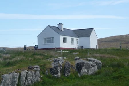 Tigh a' Bhaoghlach. (The Benbecula man's House) - Isle of South Uist
