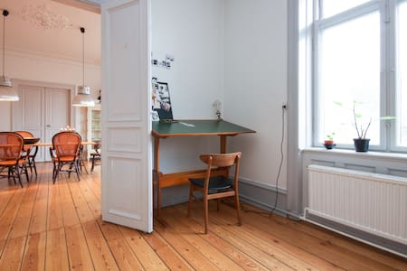 Really large flat in central CPH - København - Apartment