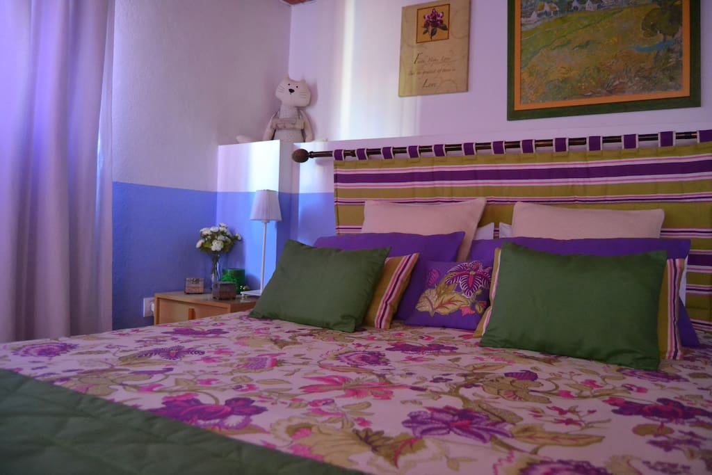 Confortable Bed 140x200...Organic Cotton 100%
