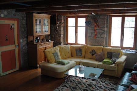 Jolie maison isolée et rustique - Urbeis - Dům