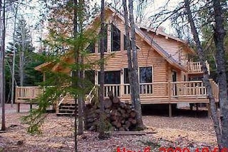 Secluded Log Home - Frenchman's Bay - Lamoine