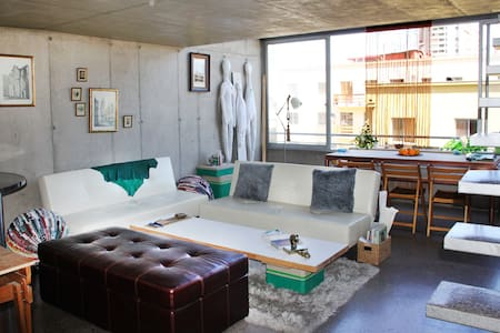 Romantic Loft in famous Bellavista! - Recoleta