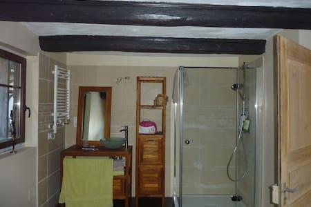 Chambre dans alcove stub alsacienne - Maison