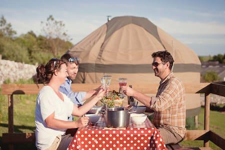 Long Valley Yurts Peak District - Buxton
