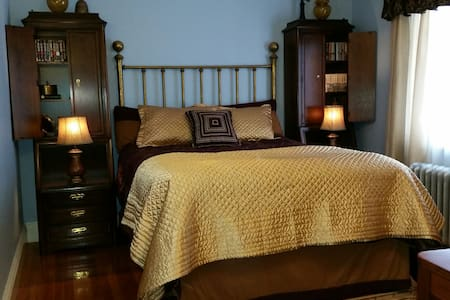 Queen Bedroom private bath