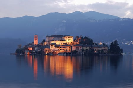 17th century Villa on the Island of San Giulio. - Orta San Giulio (Novara)