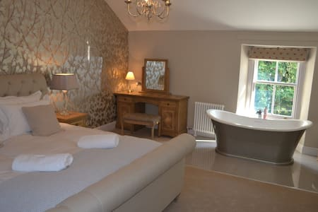 Luxurious traditional cosy cottage near Keswick - Stair - House