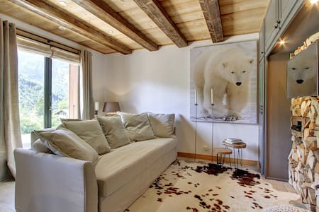 "Comfort luxury apartment ""L'Ours Blanc Lodge"" - Huoneisto"