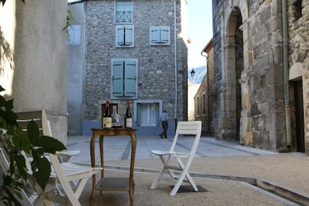Charming 18th century terrace - Quillan - Dom