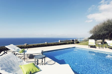 Villa Lux on the cliff. - Sa Torre