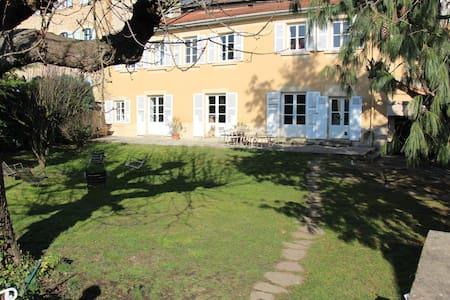 Maison de famille 30km Lyon Saône ♡ - House