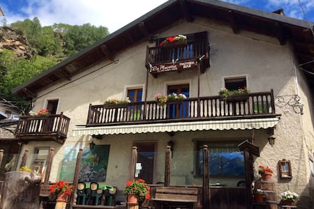 Lovely apartment in mountain chalet - Usseaux