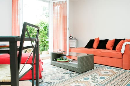 Cozy 1BD with garden, gate of Paris - Les Lilas