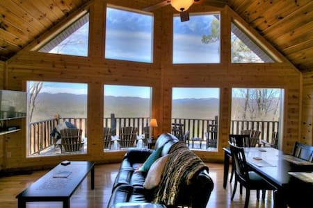 Magnificent Views from Mountain Top Cabin - Cleveland - Annat
