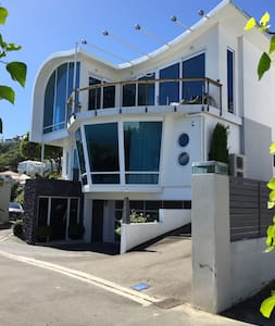 Oriental Bay B&B1 Walk to Town. Free WIFI& Parking - Wellington - House