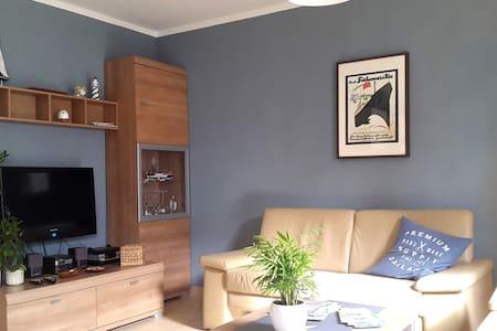 Moderne Wohlfühl-Wohng (zw Zentrum +Strand) + Wlan - Fehmarn - Apartemen