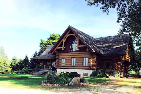 """Handcrafted Log Home """"Windover"""""""