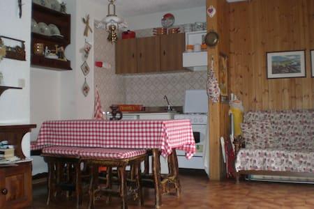 Monolocale con giardino con 4 letti - Cerreto Laghi