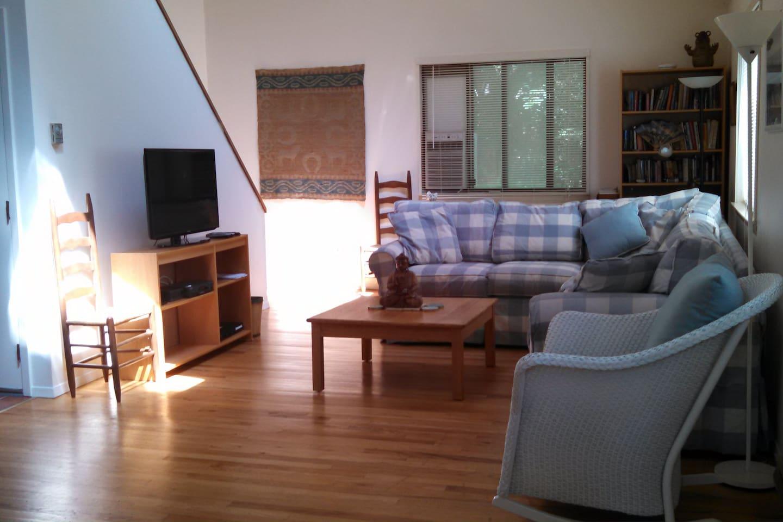 New furniture in livingroom