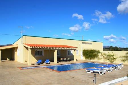 Casa de campo piscina, 10min playa - Hus