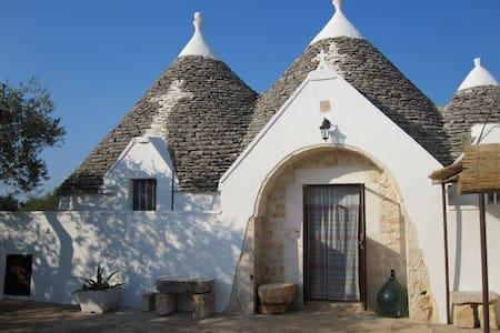 Trulli Zingarelli Apulien - Casa