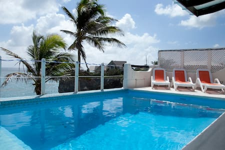 Ocean Front Villa W/ Pool Nr Crane