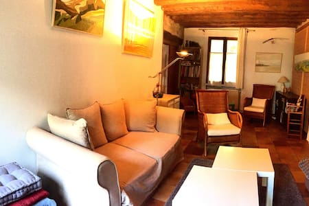 Appartement spacieux et chaleureux, proche Paris - Appartement