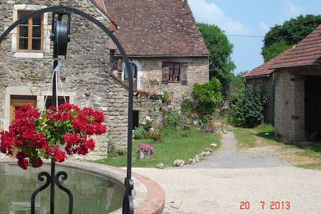 Gîte de charme à 20' de Beaune - Écutigny - Huis