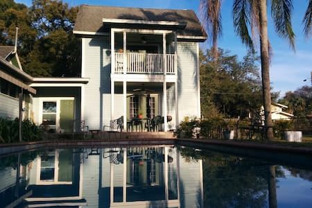 2 story cottage in Seminole Heights - Tampa - Apartment