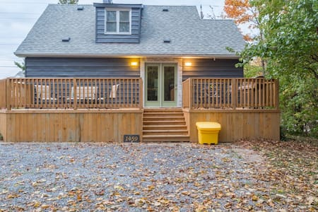 Modern Cozy Cottage in NOTL/Virgil near NFLS - Niagara-on-the-Lake