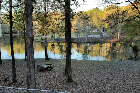 Pinewood, Walking Dead, Fishing, Spacious, Clean - Fayetteville - Haus