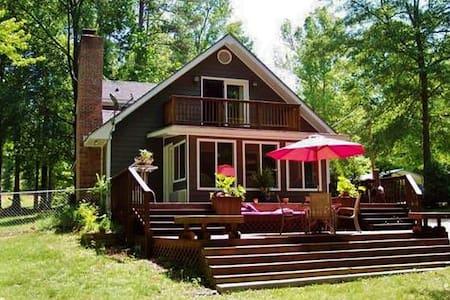 Splendid 3BR House on Jackson Lake - Mansfield - Huis