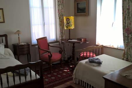 Chambre 2 couchages, centre ville - Criquetot-l'Esneval - Casa
