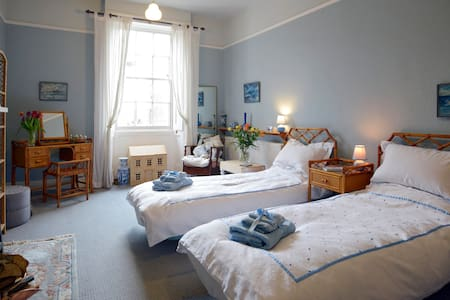 The Blue Guest Room, (Twin) Bedford - Bedford - Bed & Breakfast