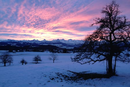 BnB near Bern and the mountains