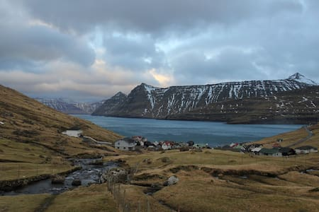 Faroe Islands Cottage by the Ocean - Funningur - House