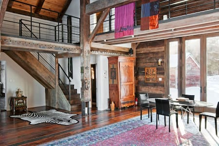 Hudson Valley Barn Bedroom - Ulster Park - Bed & Breakfast