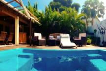 B & B mit einem Pool