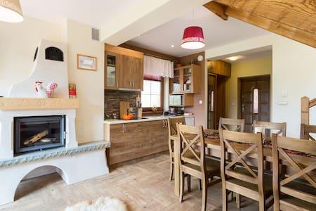 Cozy Cottage with Fireplace (70m2) Thermal pools - Bańska Niżna