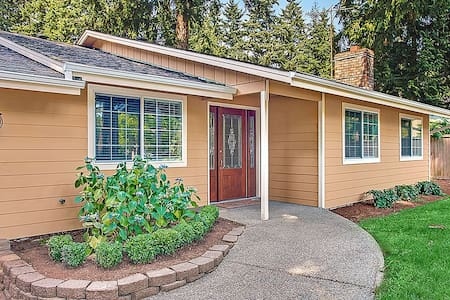 Cozy rambler close to downtown Kirkland, Bellevue - Kirkland - House