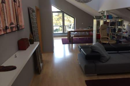 loftähnliche Wohnung 25min bis Düsseldorfer Messe - Apartament