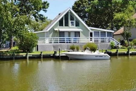 Pura Vida....Canal front cottage - Ocean Pines