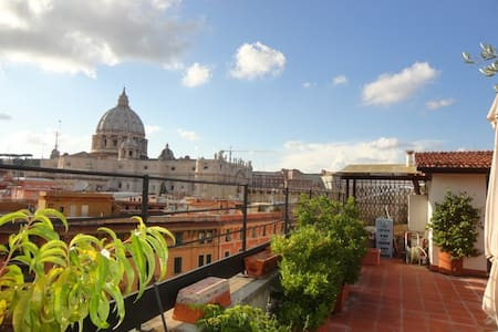 Amazing Penthouse - St Peter Vatican View! - Rome - Appartement