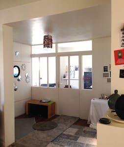 Chambre lit double dans jolie maison familiale - Brest - Bed & Breakfast
