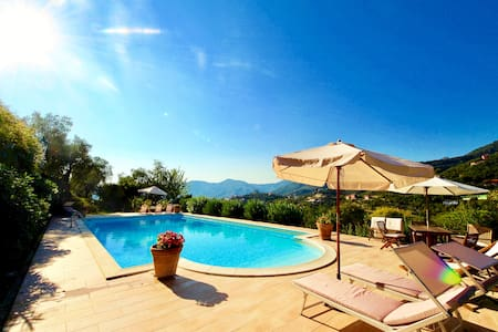 ADAMO 2BR-pool&terrace&view by KlabHouse - Zoagli - Huoneisto